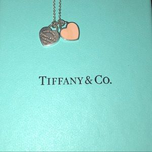 Pale Pink Heart Tiffany & Co. Necklace 🎀